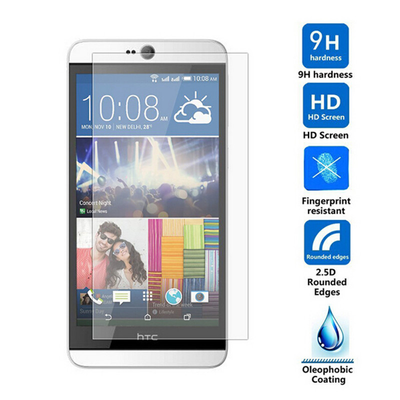Tempered Glass For HTC Desire 826 D826 826G 826w Dual SIM 826s 826d 826t Screen Protector Toughened Protective Film Guard