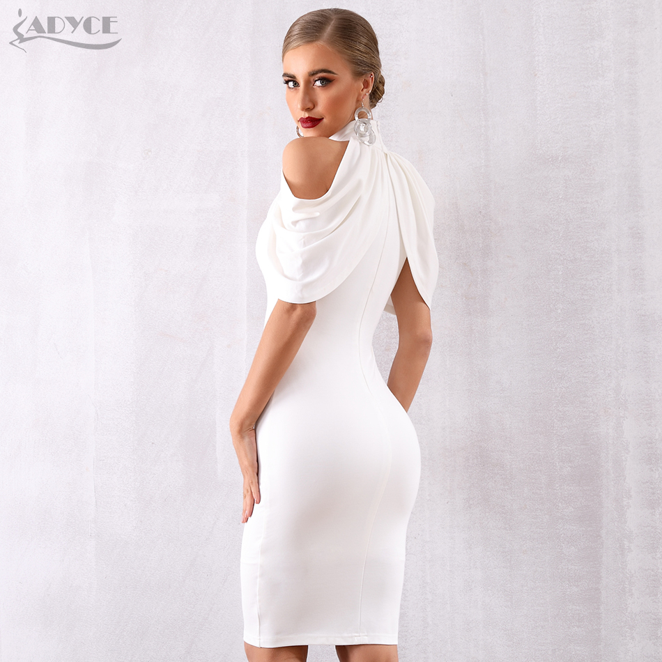 Image 5 - Adyce 2020 New Summer Celebrity Evening Party Dress Women Elegant