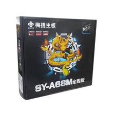 Новый оригинальной аутентичной компьютерные платы для Soyo SY-A68M полный твердое Издание S1 DDR3 AMD FM2 + розетка