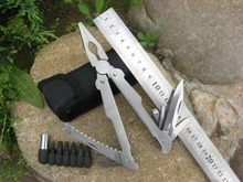 Foldable Multi Functional Plier with knife/saw/screwdriver all in ONE