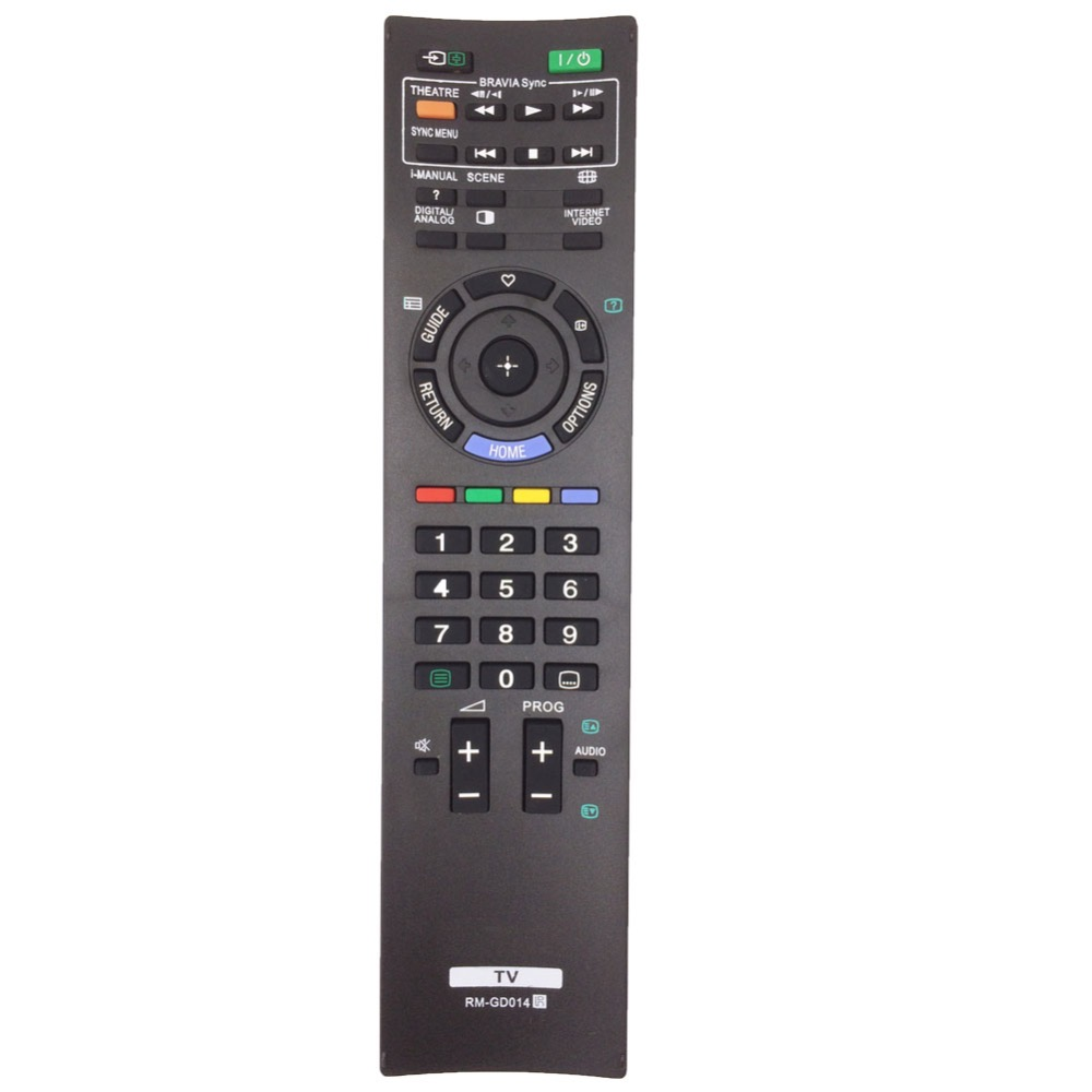 RM-GD014 Remote Control For SONY BRAVIA LCD LED HDTV TV KDL-55HX700 46HX700 46EX500 40HX700 40EX500 40EX400 KDL-32EX500 32EX400 remote control suitable for sony rm gd005 kdl 32ex402 rm ed022 rm ed036 lcd tv