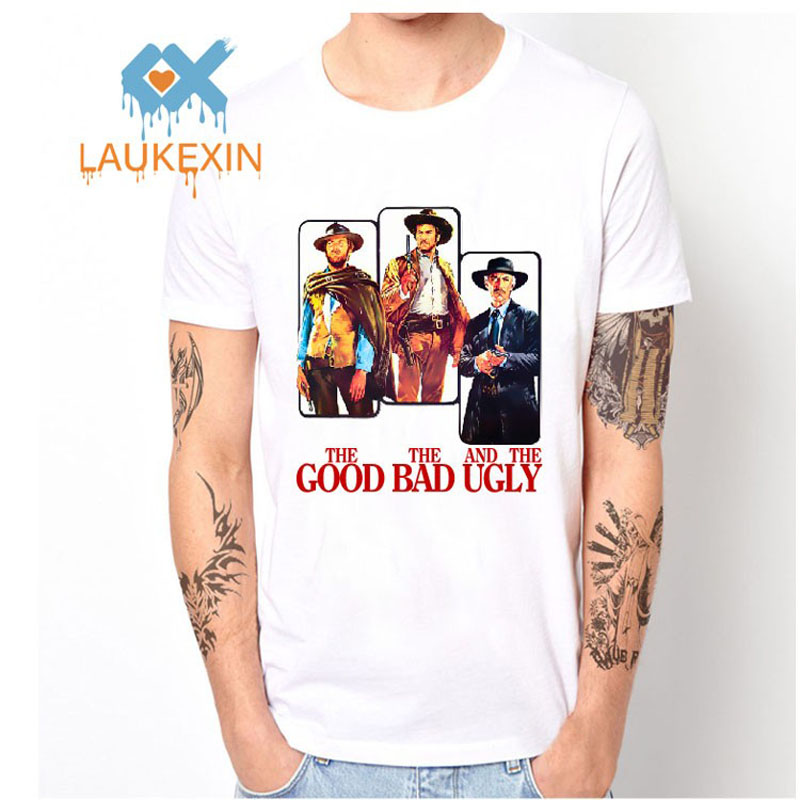 The Good The Bad And The Ugly Men's Mesh T Shirt Novelty Print Anime Tops Polyester Shirt camisetas hombre hip hop mens top tee
