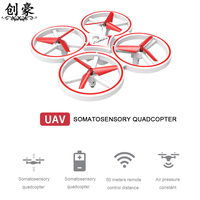 Mini Drone Watch RC Drone Quadcopters 4Axis Headless Mode One Key Return RC Helicopter Dron Copter Toys For Children