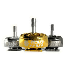 1/4 PCS FLYWOO NIN N2306 2-6 S FPV 1750KV 2450KV 2750KV Ouro Prata Do Motor Brushless para modelos de RC Multicopter Parte Accs(China)