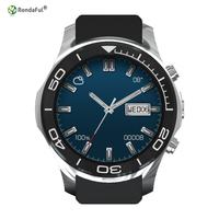 Smart Watch MTK 6572 dual core 1.2 GHz Fotocamera Android 5.1 ROM 4 GB RAM 512 MB SIM TF Card per Android GPS Orologio Intelligente Orologio