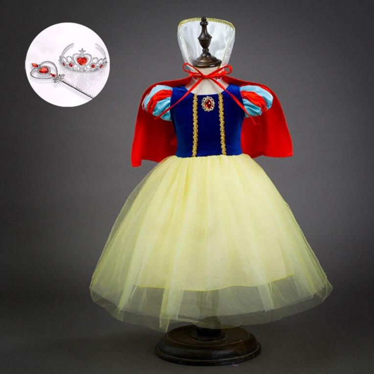 138f567e2 € 7.66 30% de DESCUENTO|El Día de los niños mostrar capa de vestido de  fiesta de niños Encantadores Niños Cosplay ropa Cosplay princesa blanco ...
