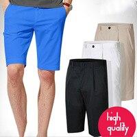 New High Quality Summer Men S Shorts Golf Pants Sports Leisure Shorts Belt Solid Black White