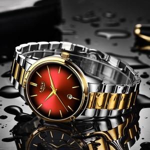 Image 3 - Fashion Women Quartz Watch Ladies LIGE Top Brand Luxury Women Watch Stainless Steel Waterproof Girl Dress Clock Relogio Feminino