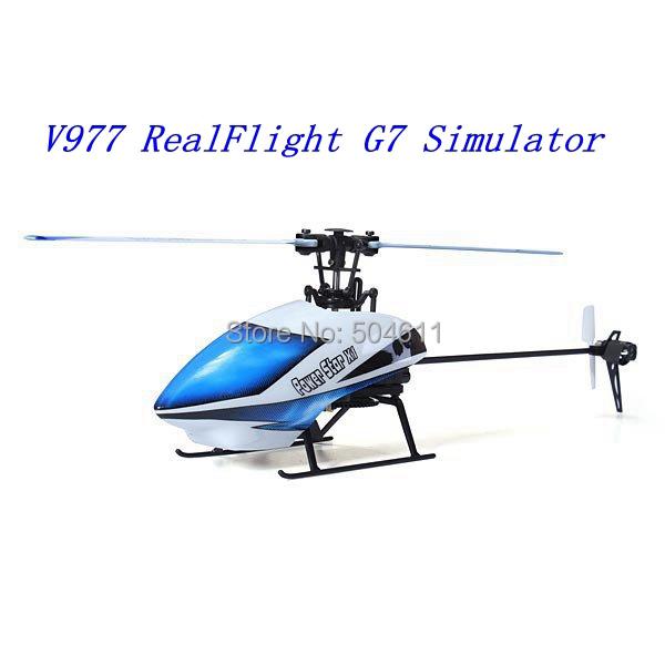 Nova versão WLtoys V977 Power Star X1 6CH 2.4 G sem escova RC pacote Original Mini RC helicóptero