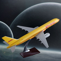 47cm Resin B757 DHL Airlines Model Boeing 757 Airplane Airways Advanced Gift Static Airbus Model Aircraft Collection Toys