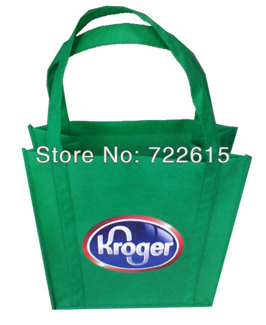 Whole Customized Heat Transfer Printing Non Woven Bags Reusable Tote Promotional Ping