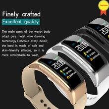 2019 smart talk Color Headset Talk Smart band Bracelet Heart Rate Monitor Sport Watch Passometer Fitness Tracker Wristband