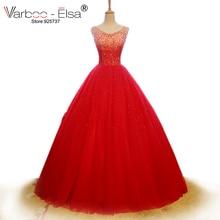 VARBOO_ELSA Bridal Gowns Wedding Dress Sleeveless Ball Gown