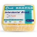 Interdental Brush 1.0mm-1.2mm 60piece/pieces Removes plaque between that cannot be cleaned witha tooth brush Flexible