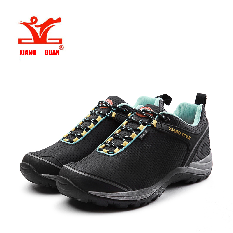 2016 xiangguan canvas waterproof hiking shoes low slip