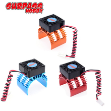 SURPASSHOBBY 7014 Motor Heat Sink With 21000RPM Cooling Fan for 1/10 HSP RC Car Modified 540 550 3650 3660 3670 3674 Series