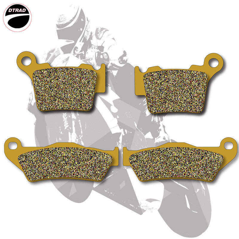 Moto Brake Pads Front+Rear For KTM  XC 300 06-14 EXC-F 350 12-14 SX-F 350 11-14 XC-F 350 11-14 XC/EXC 400 04-11 XCR-W 450 2008 motorcycle front and rear brake pads for ktm sx f 505 2007 2008 xc f 505 2008 sxc 625 2005 2006 sintered brake disc pad