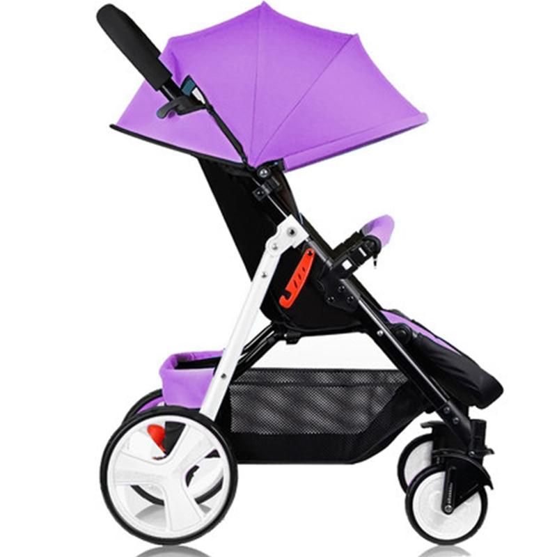 Wózek dziecięcy Sally parasolka zimą i latem z ręki może - Aktywność i sprzęt dla dzieci - Zdjęcie 6