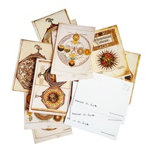 16 Pcs/lot Ancient Rome Style Postcard Greeting Cards Vintage Postcards For Friend Gift Greetings