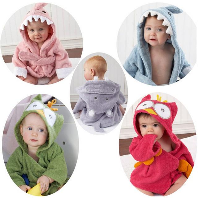 2017 Venda Direct Selling Corpo Macacão de Bebê Unissex Completo 2016hot Sale100 % Algodão Toalha Bonito do Animal Roupão de Banho Swaddle Cobertores