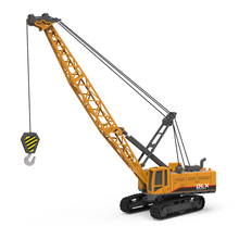 Crawler Crane Toys Engineering Vehicle 1:50 Construction Toys Truck Tractor High Simulation Engineering Model Toys For Children yellow architecture construction vehicle model alloy simulation cement mixer truck toys for children buildings