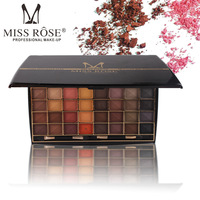 Miss Rose Cosmetic Brand New 48 Colors Eyeshadow Palette Matte Earth Color Eye Shadow Makeup Professional