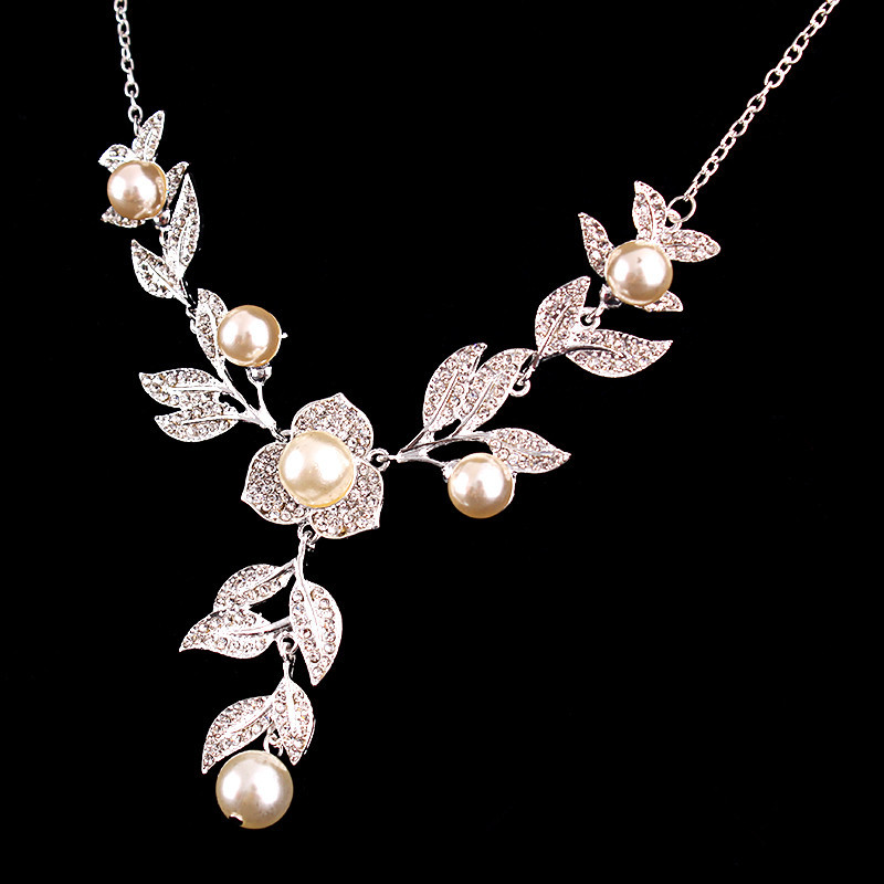 Lovely Simple Design Jewelry Sets for couple Beautiful Pink Pearl ...