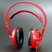 Steelseries Siberia V2 200 Red Gaming Headphone Noise Isolating Game Headphones Headset For Gamer