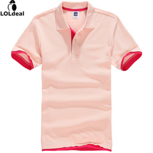 Men's Short Sleeve Solid Pique Polo Women
