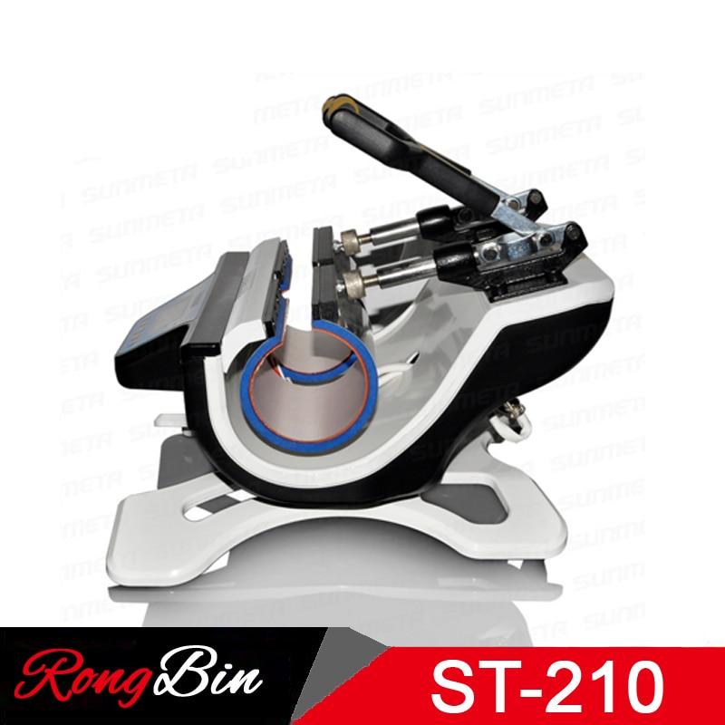 ST-210 Cüt Stansiya Mug Press Machine Sublimation Heat Press Machine - Ofis elektronikası - Fotoqrafiya 3