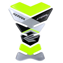 Motorcycle Tank Pad Protector Decal Stickers for Competitive race motorcycle sports car CBR series