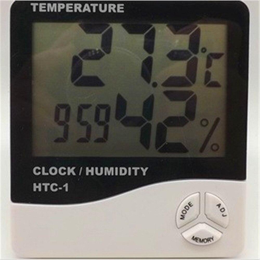 1 шт. цифровой крытый высокоточный сухой и влажной термометр часы дома, используя-10 ~ 50C 2 Тип выбрать Бесплатная доставка