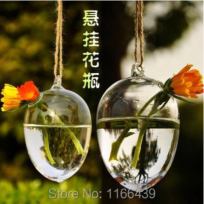Vaj qelqi varur modë Lule hidroponike Lule moderne Dekorimi i - Dekor në shtëpi - Foto 1