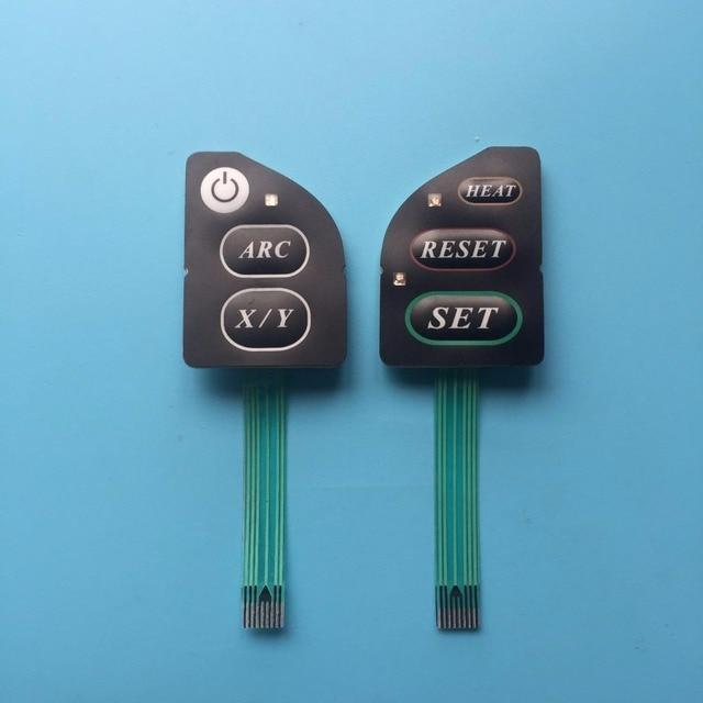 Fujikura FSM 60S FSM60S מפתח לוח FSM 60R FSM 18S FSM 18R FSM60R fsm60s אופטי סיבי Fusion כבלר מקלדת כפתור 1 זוג