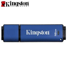 Original Kingston USB Flash Drive Pendrive Data Traveler Vault Privacy USB3.0 8GB USB Stick Hardware Encryption Flash Disk