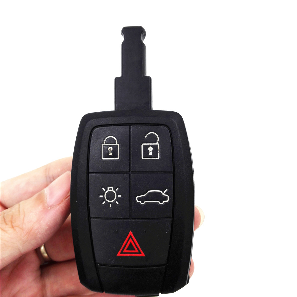 HKCYSEA Original 4+1 Buttons Replacement Car Key Remote Shell for VOLVO S40 C30 C70 Keyless Entry Fob Case car remote key shell with shell buttons case holder cover for mercedes benz smart