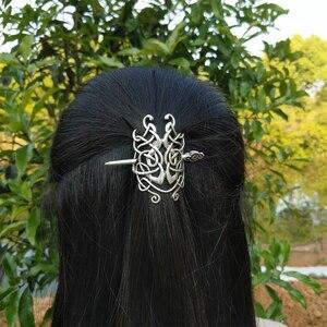 Image 1 - 10 PCS נורדי ויקינג סלטיקס Knotwork מכבנת שיער תכשיטי לנשים Cetilcs שיער תכשיטים