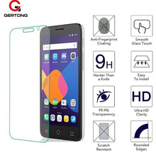 GerTong Tempered Glass Screen Protector For Alcatel Pixi3 Pixi4 Pixi 4 3 Idol3 Idol4 Idol4S 4S Idol Pop Pop4 Protectiv Case Film