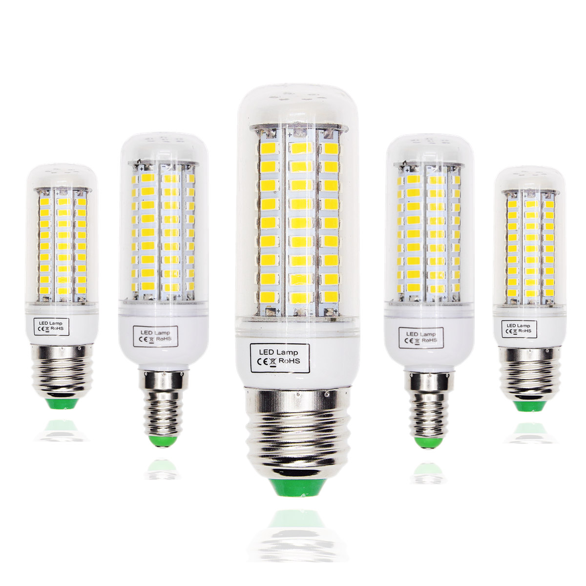 LED Lamp E27 E14 LED Bulb 220V 5730 Corn Light Lampada LED Bulbs Chandelier Candle For Home Decoration Replace filament Light led bulbs light lamps e27 e14 5730 220v 24 36 48 56 69leds led corn led bulb christmas lampada led chandelier candle lighting
