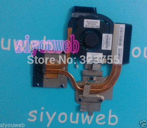 Free shipping ,Laptop CPU Cooling FAN & HEATSINK 682061-001 Original for HP Pavilion DV6-6000 DV7-6000 плита vitesse vs 514