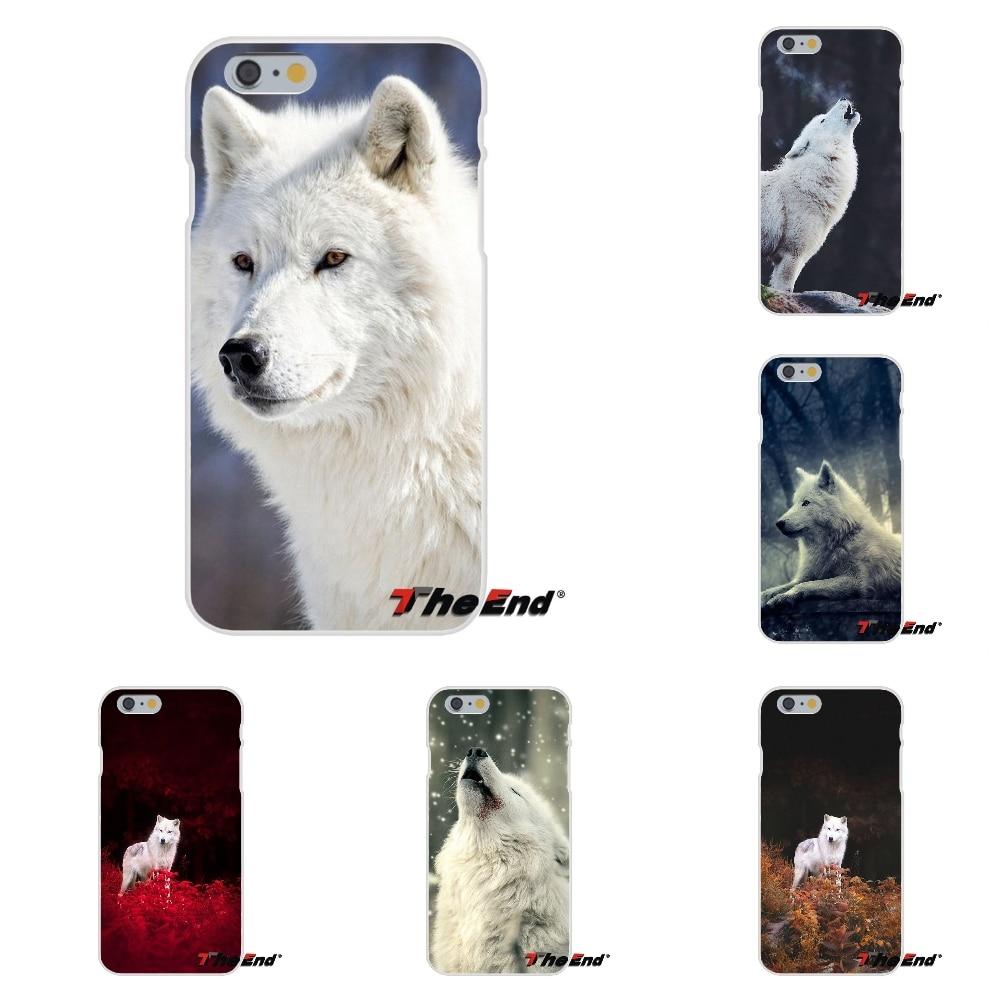 Amazing Snow White Wolf Spirit Animal For Huawei G7 G8 P8 P9 Lite