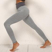 Лучший!  Трикотажные бесшовные бедра фитнес брюки женские повседневные леггинсы сексуальные рабочие леггин�