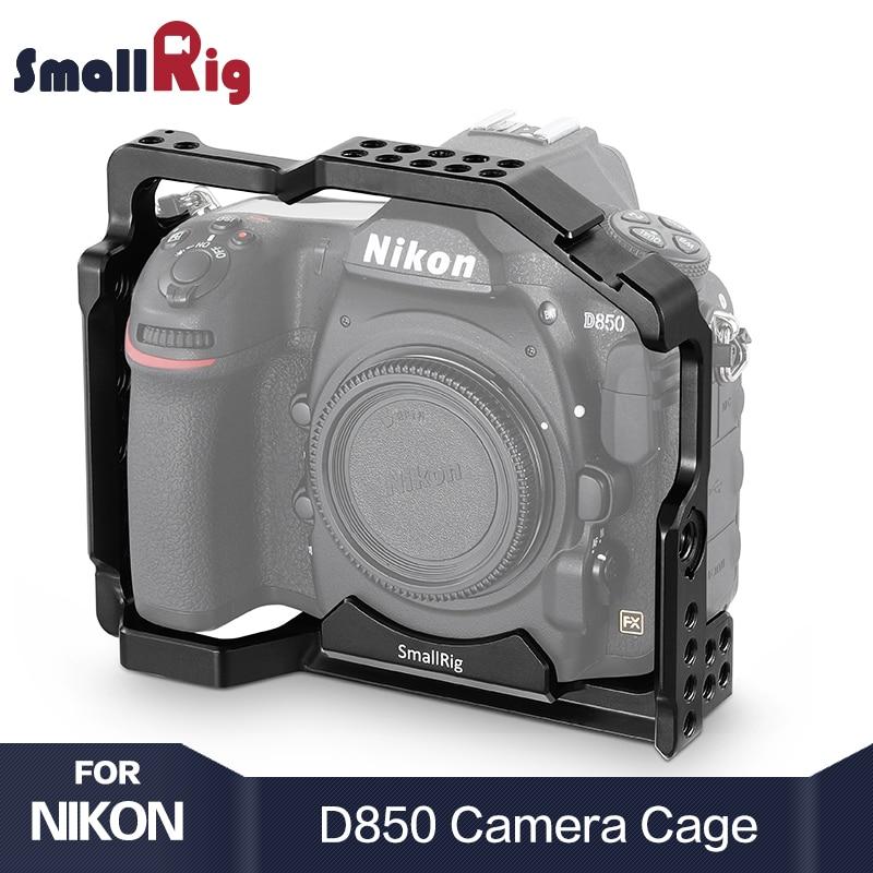 SmallRig d850 กล้อง Dslr สำหรับ Nikon D850 รองเท้าเย็น Arri ตำแหน่งหลุมสำหรับ DIY ตัวเลือก 2129-ใน โครงใส่กล้อง จาก อุปกรณ์อิเล็กทรอนิกส์ บน AliExpress - 11.11_สิบเอ็ด สิบเอ็ดวันคนโสด 1