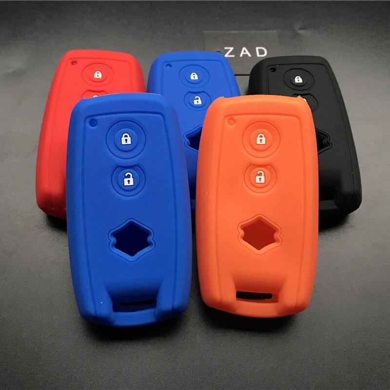 ZAD силиконовый резиновый чехол для защиты кожи для SUZUKI Swift Sport SX4 SCORSS grand vitara smart keyless