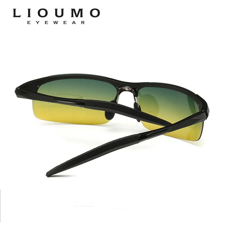 Top quality Men Polarized Sunglasses Day Night Vision Anti Glare Car Outdoor Driving Sport sun glasses Women gafas de sol hombre in Men 39 s Sunglasses from Apparel Accessories
