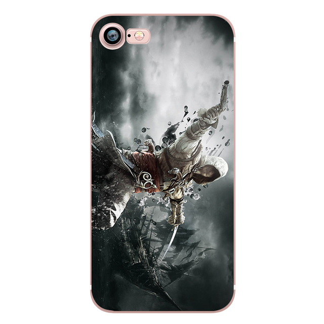 Assassins Creed Phone Case for iphone 5s 7 6s 5 se 6splus 7plus