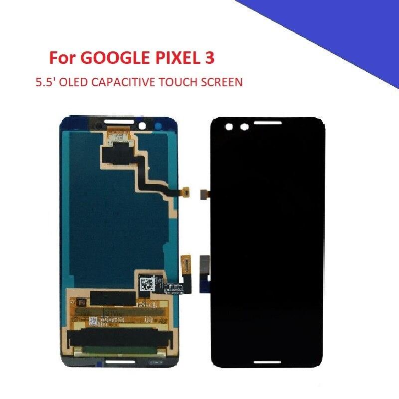 5.5 'Oled scherm Voor Google pixel 3 pixel3 Lcd scherm Touch Panel Vergadering Mobiele Telefoon Delen voor Pixel 3-in LCD's voor mobiele telefoons van Mobiele telefoons & telecommunicatie op AliExpress - 11.11_Dubbel 11Vrijgezellendag 1
