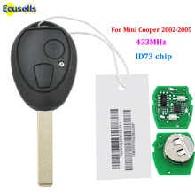 For BMW Mini Cooper 2002-2005 Remote Key Fob FULL COMPLETE 433.9MHZ WITH ELECTRONICS with ID73 CHIP - DISCOUNT ITEM  11% OFF Automobiles & Motorcycles