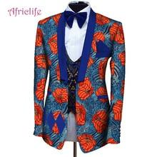 Bottom Price Private Custom Men Dashiki Blazers African Print Suit Blazer Mens Jacket Africa Clothing for Wedding
