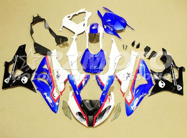 Nouveau carénages ABS adaptés pour BMW S1000RR 09 12 13 14 1000RR 2009-2014 Kit de carénage de moto d'injection ensemble de carrosserie japon